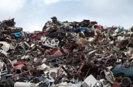 Como os componentes eletrônicos são reciclados ?